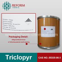 Triclopyr 98%/99%TC,60%EC, CAS NO.55335-06-3/64700-56-7/57213-69-1