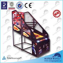Crazy basketball indoor arcade hoops cabinet basketball game