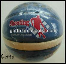 Promotional size 5 Pu leather laminated basketball