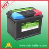 car battery 12V60AH lead acid car battery accumulator