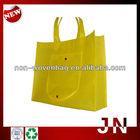 Custom Logo Printing Non-woven Foldable Bag With Snaps, Non-woven Foldding Shopping Bag
