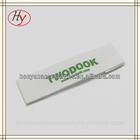 Eco-friendly printed cotton neck labels for t shirts garment cotton label