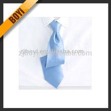 Sky Blue Satin Silk Tie For Men