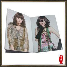 2013 Cheap hair cutting sample book catalogue printing