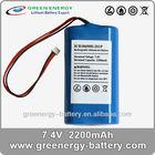 li-ion battery 18650 8.4v lithium battery pack