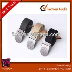 Canvas Military Men belt Belt Fashion Fabric belt 2013 new design