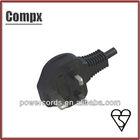 6A/10A/13A 250V UK BS 3 pin plug