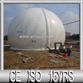 membrana personalizado balão de gás para a forma de armazenamento para a planta de biogás