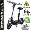 Electric scooter 1000W, foldable, LiFePO4 battery