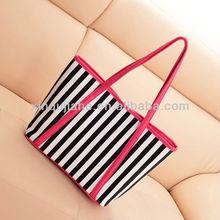 2014 New Stripe Canvas Bag