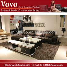 Lounge Furniture Sectional Sofa New Leisure Leather Sofa F-2099