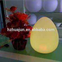 Outdoor led ovo em forma de esfera lâmpada& lâmpada de tabela