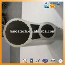 6063 T5 aluminum extrusion profile tube construction