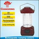 CR-1069 2*6W fluorescent tube garden hanging solar lantern Portable Camping light