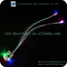 long lifetime waterproof led shoe light/children shoes light