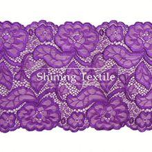 2013 projeto de venda quente de nylon spandex doily laço para roupa interior