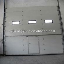 Garage Door With Walk Through Door / Sectional Industrial Door