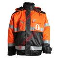 astm f1959 prevención de llama traje de chaqueta para trabajar en un clima frío