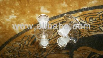 GLASS ON GLASS BOWL STAND DISPLAY