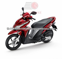 Hot Selling Cheap 125cc Red Pedal Motorcycle