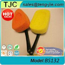 car wash sponge with handle (BS132)