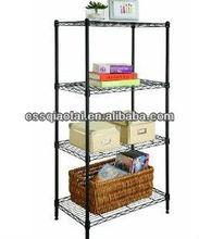 Tier racks/wire mesh commodity shelf