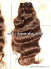Natural body wave &bleach blonde color tight curly weaving human hair.hair weaving.extension hair