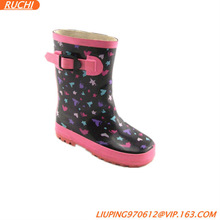 new style / heart-shaped/ Children Rubber Boot