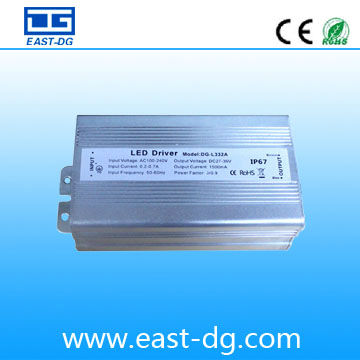 High quality 55W constant current waterproof electronic led driver