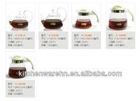 haonai glass 2013 hot sale!art glass coffee decanter