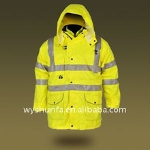 Reflective three in one waterproof Safety jacket