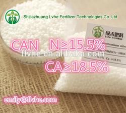 calcium ammonium nitrate fertilizer N15.5 CA 18.5