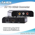 High Definition 1080P HDMI to AV CONVERT BOX