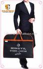 non woven travel garment bags for men manufacturer
