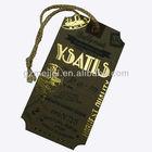 fashion garment paper hang tag
