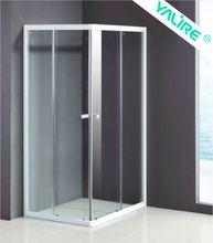 toughened glass shower room