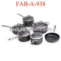 10 pz durevole non- bastone alluminio industriale pentole e padelle