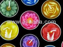 Thailand flower tealight candles