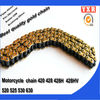 hot sale motorcycle chain 525,chain sprocket motorcycle cam chain,transmission kit kmc motorcycle chain
