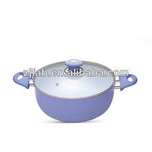 Nice Design White Ceramic Chinese Hot Pot
