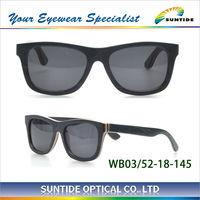 2013 new products sunglasses fashion skateboard wooden sunglasses(WB06)