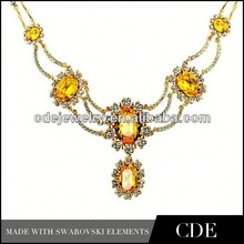 2013 crystal fashion pictures of diamond necklace