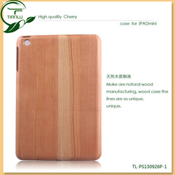 2013 Hot Sale Eco-friendly Carving Wooden Case for Ipad mini