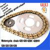 hot sale cbr600rr chain,chain sprocket motorcycle cam chain,transmission kit hayabusa chain