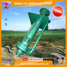 Vertical industrial submersible sump slurry pump