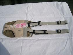 Soft PU leather dog carrier bag