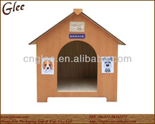 Small wooden pet house for dogs