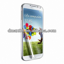 Touch screen protector film for mobile phone for Samsung galaxy i9500 s4 oem/odm(High Clear)