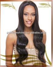 Fantastic silk top brazilian hair wig Medium Cap Length 24inch