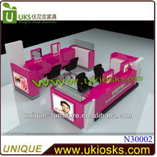 2013 12*15ft eyebrow kiosk,eyebrow threading kiosk,mall kiosk eyebrow